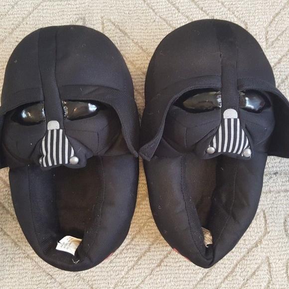 top fashion new york in stock Disney Shoes   Star Wars Darth Vader Kids Slippers Xl 45   Poshmark